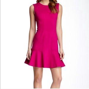 NWT DVF Jaelyn Ruffle Sleeveless Textured Dress 6